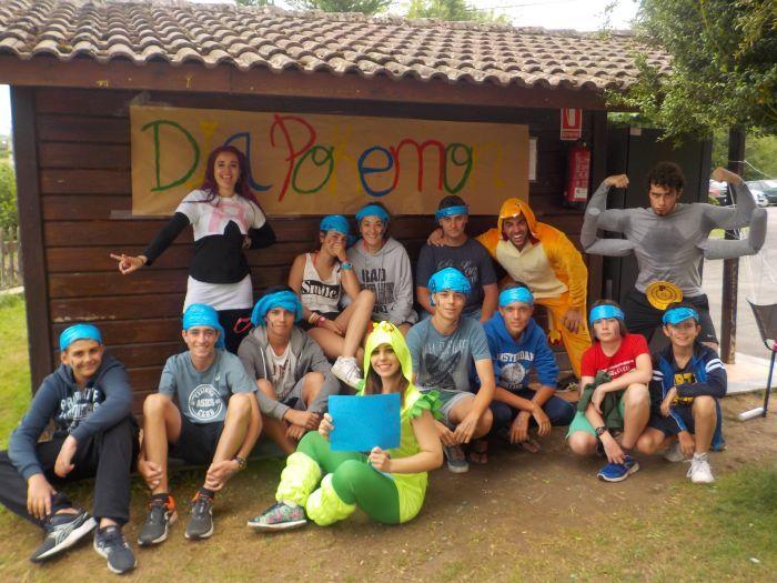 Niños campamento verano en Asturias