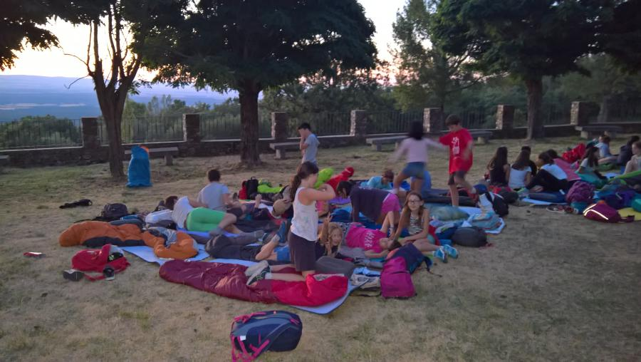 Vivac campamento Riaza 2017