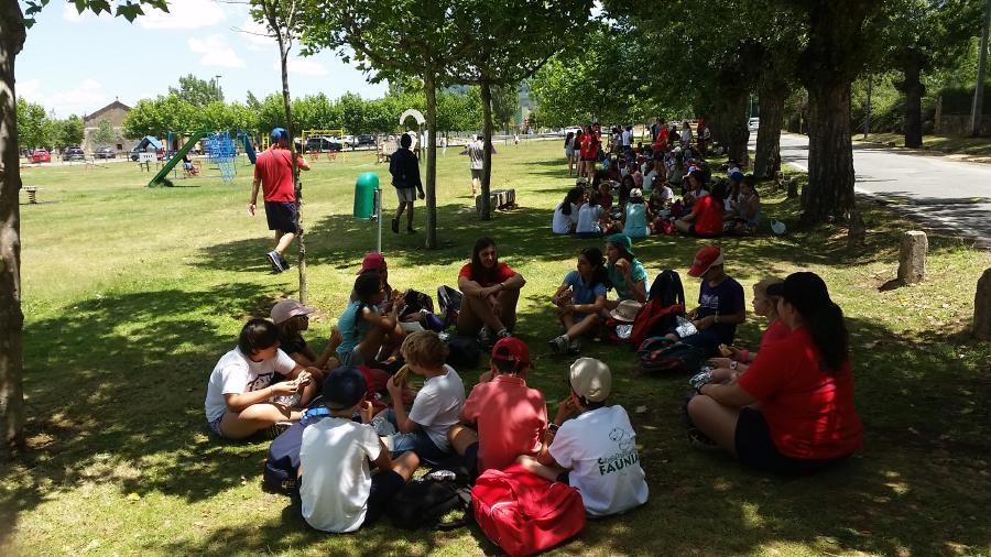 Actividades campamento La Casona del Prado 2017