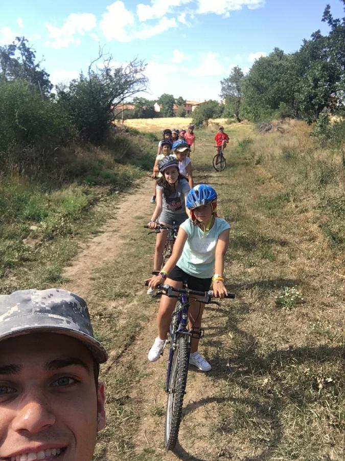 Bicicleta campamento de verano
