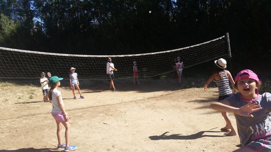 Voleibol deportes campamento