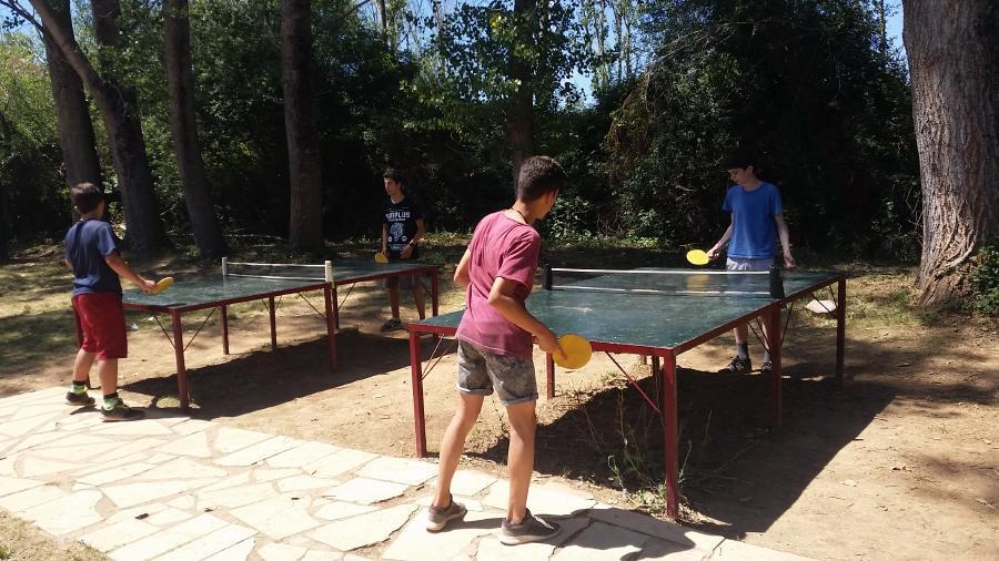 Ping pong Campamento de verano La CAsona del Prado 2017