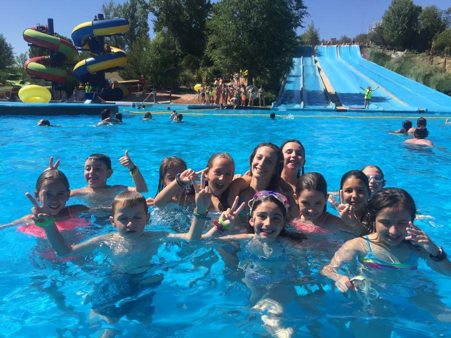 Aquopolis Campamento de verano La CAsona del Prado 2017