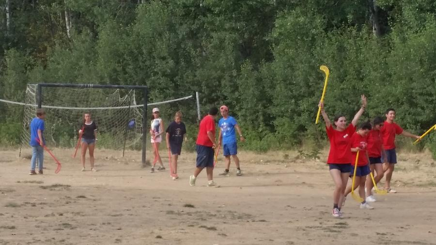 campamento de verano en agosto
