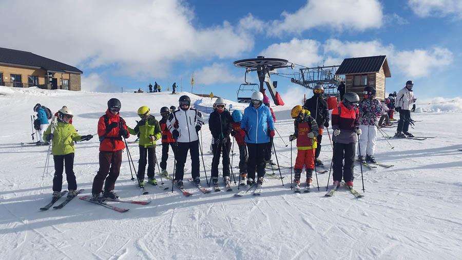 aprender a esquiar en Saint LAry