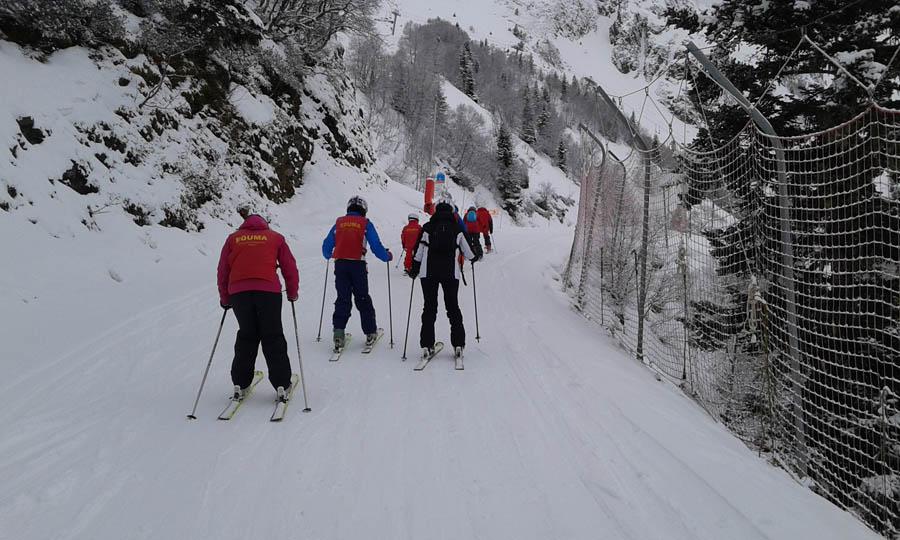 cursos de esqui para infantil, jovenes y adultos, en Saint LAry solos o en familias