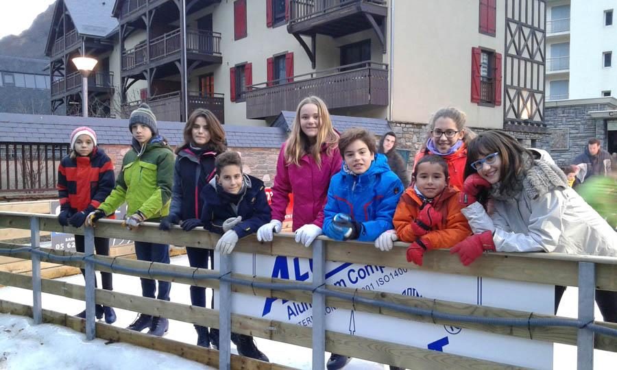 clases de esqui en Saint lary