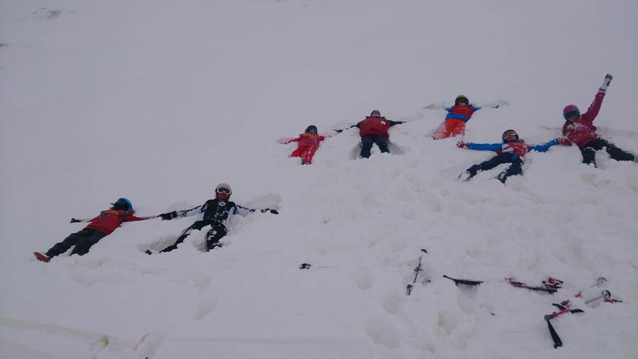 curso de esqui en la semana dereyes en Pirineos franceses
