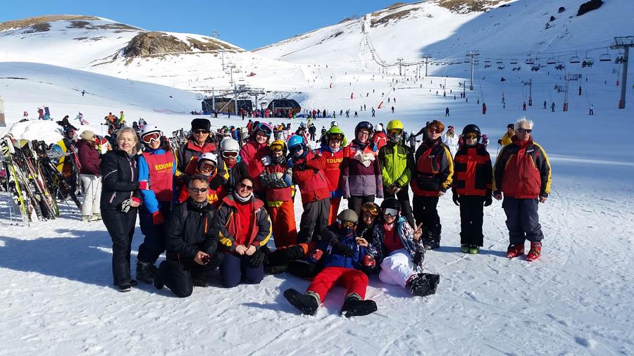 Viaje todo organizado con clases y cursos de esqui