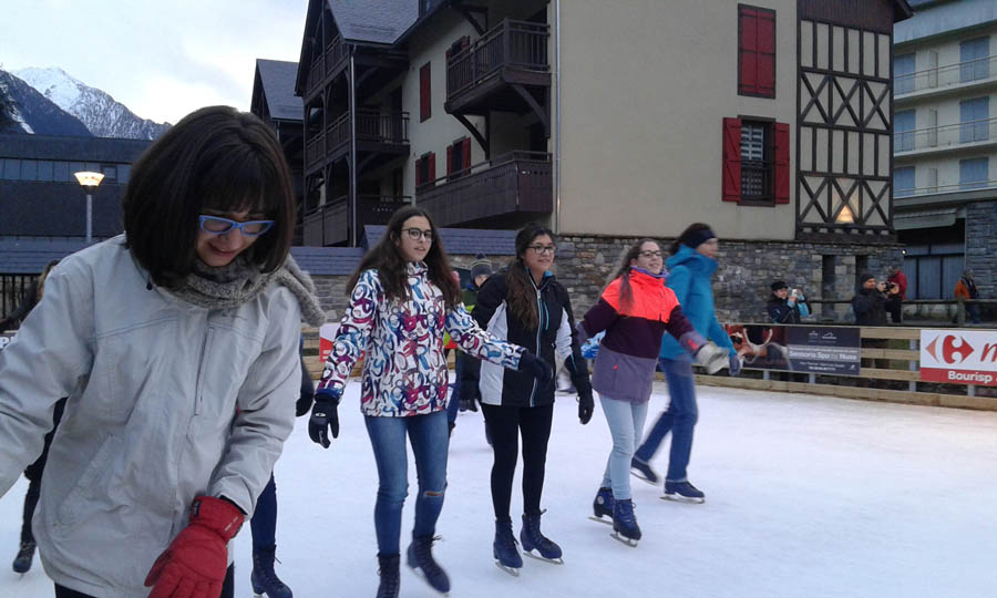 saint lary, cursillos de ski