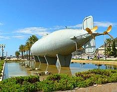 Campamento de playa Aguilas, Murcia, España. Colonia nautica. Actividades acuáticas