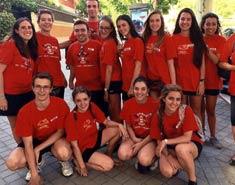 Monitores del curso intensivo de inglés en salamanca verano Julio