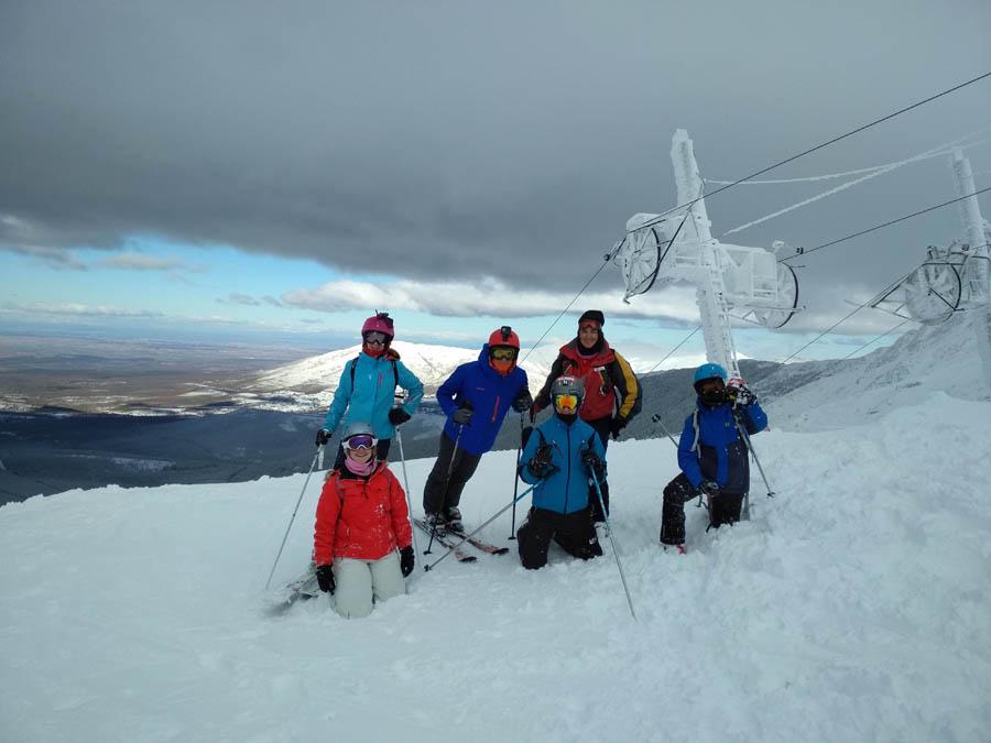 cusos de ski en la pinilla