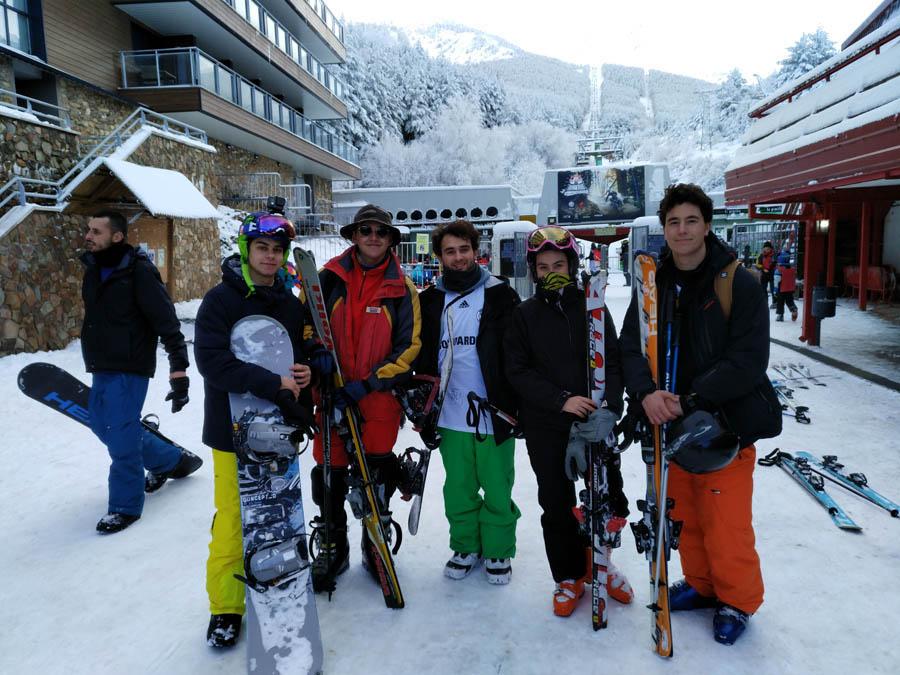cursos de ski los sabados en la sierra de madrid