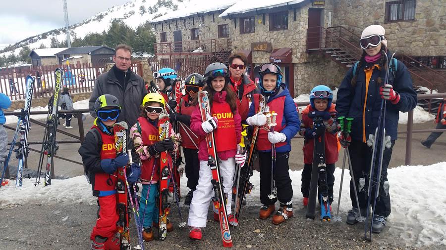 Curso esqui dias sin cole vacaciones escolares
