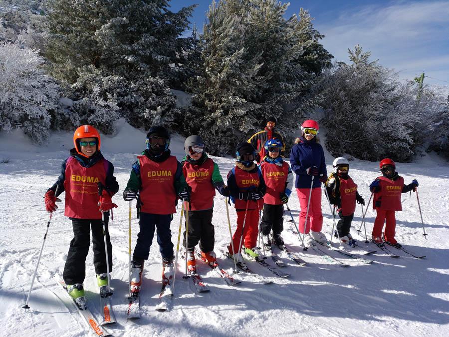 cursillos de ski los fines de semana
