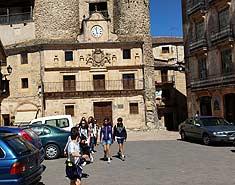 Campamento de verano en Segovia. Sepúlveda. Excursión
