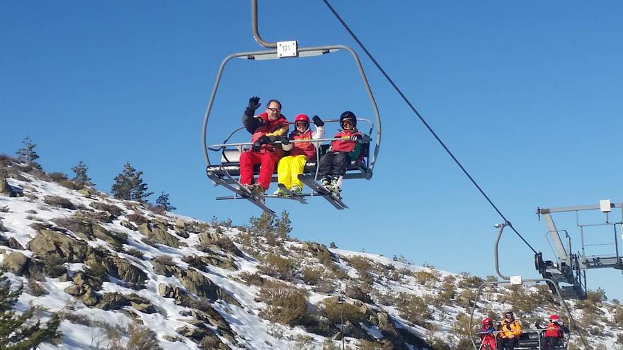 clases y cursos de esqui los sabados en la pinilla