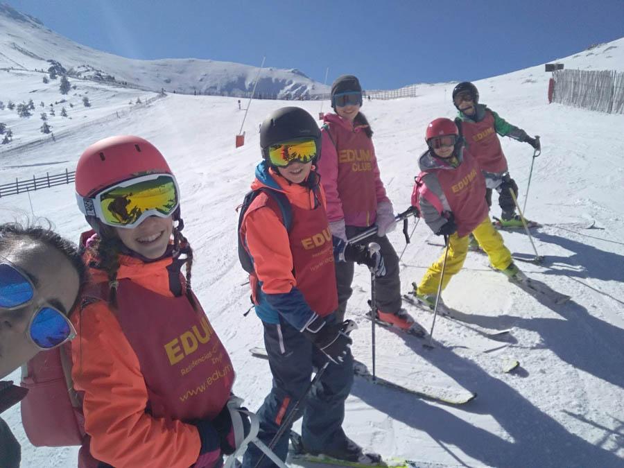 mejora tu tecnica y nives de ski con los cursos organizados que tenemos en la pinilla o valdesqui