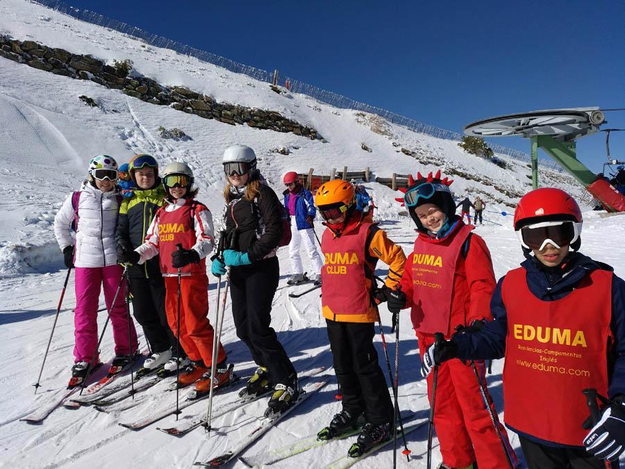 aprender a skiar los sabados en la pinilla o valdesqui