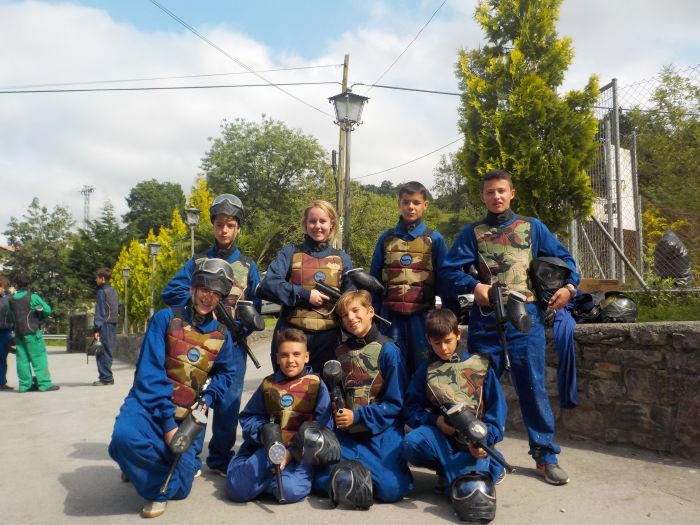 Paintball campamento multiaventura Asturias