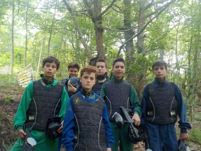 campamento en Asturias con paintball