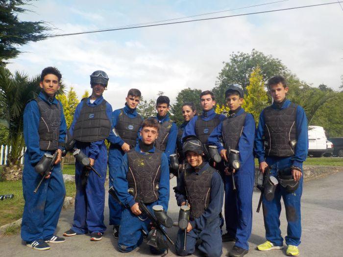equipo de paintball Asturias