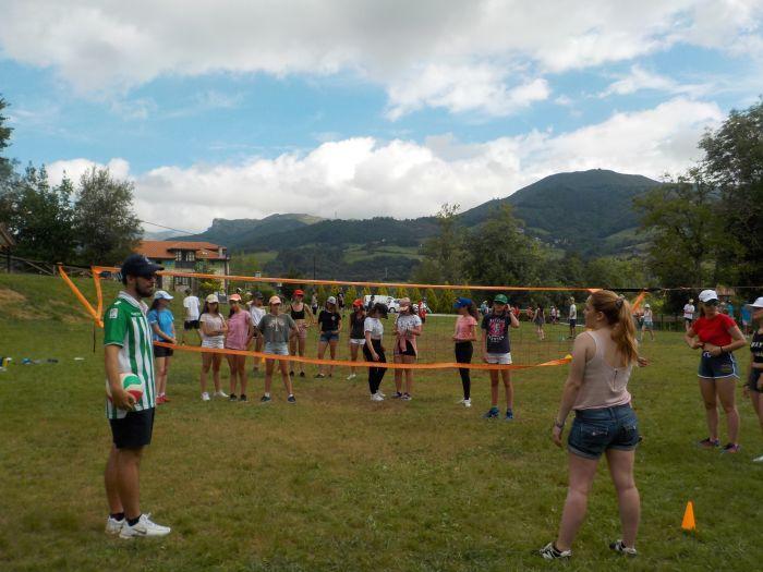 campamento con deportes