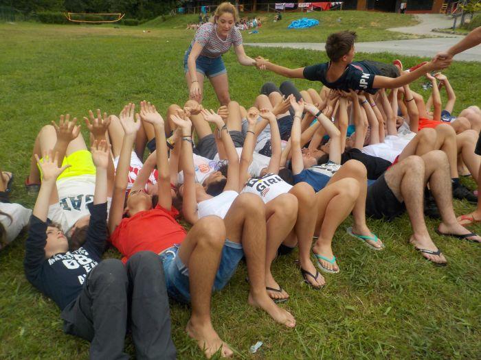 Juegos campamentos de verano