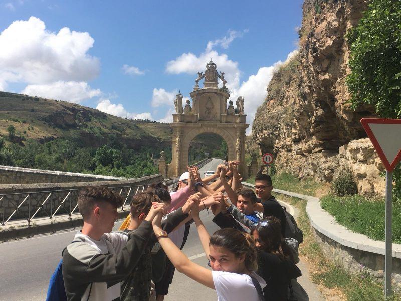 Visita a Segovia niños