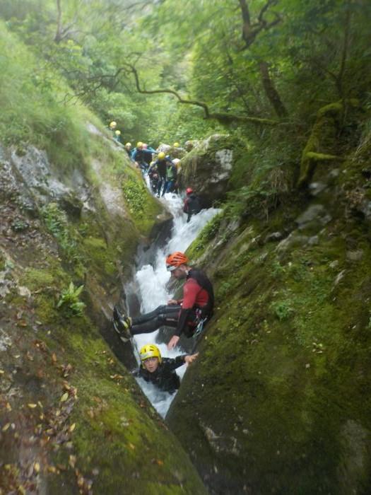descenso en Asturias