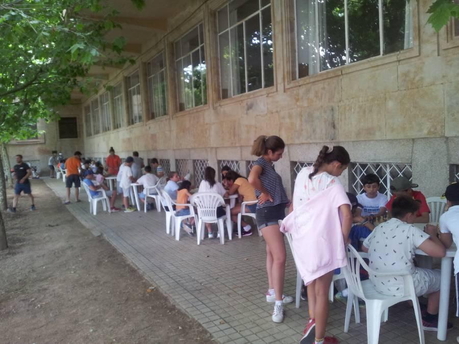jugando tranquilos en Salamanca