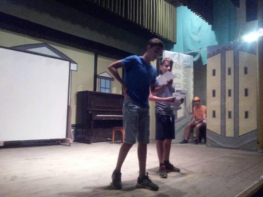 noche de actuaciones en Salamanca