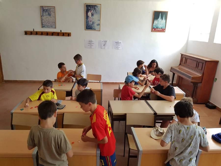 actividades de aula en campamento