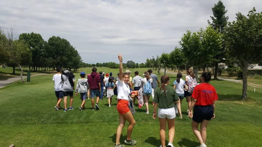 clase de golf en Salamanca