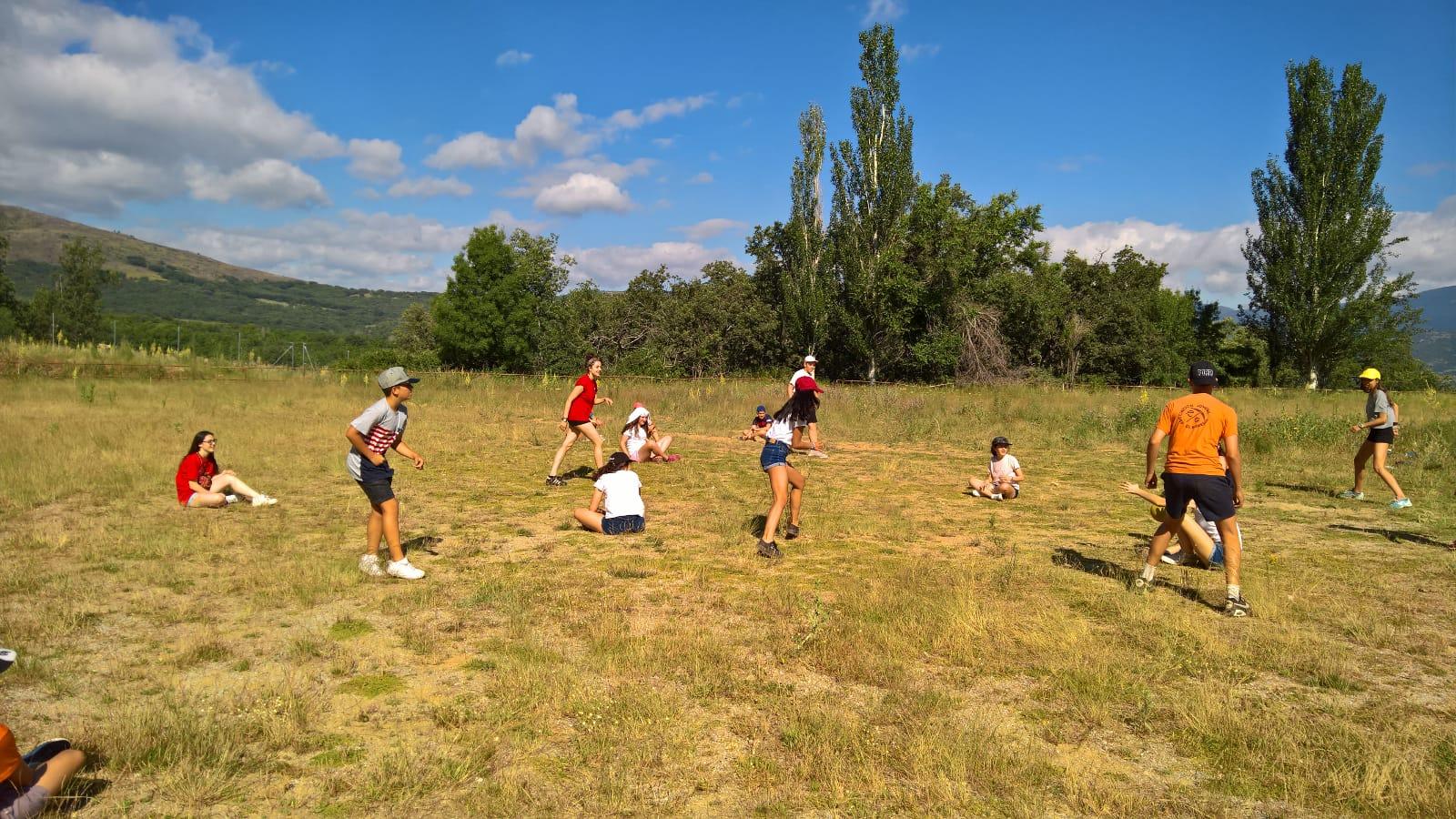 deportes y actividades en campamento de verano de MAdrid