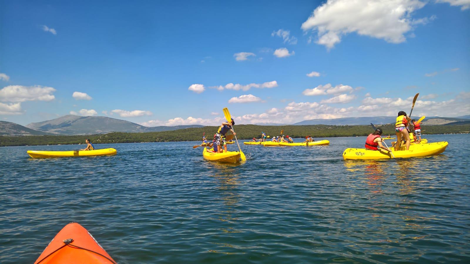 campamento con actividades, escursiones cerca de madrid