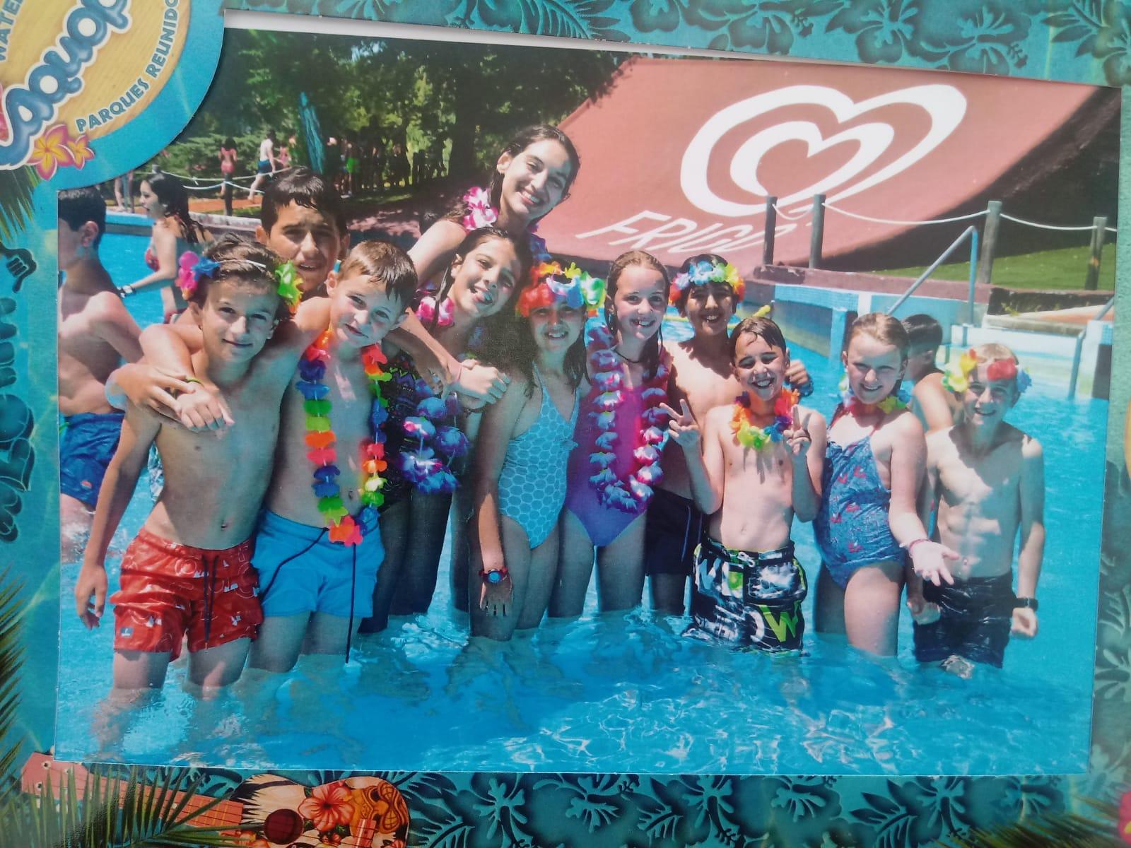 excursion al aquopolis en Campamentos Madrid