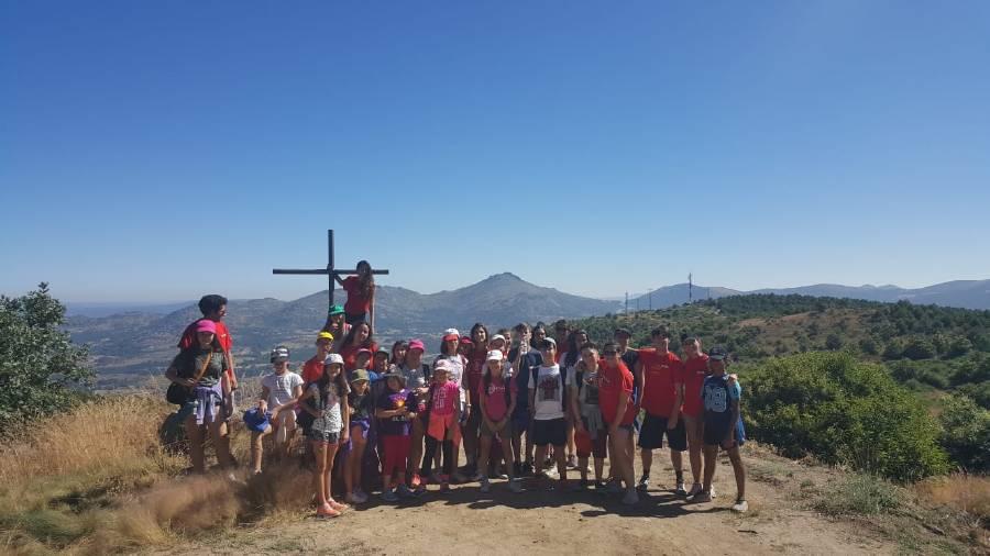 excursión a Béjar campamento Salamanca