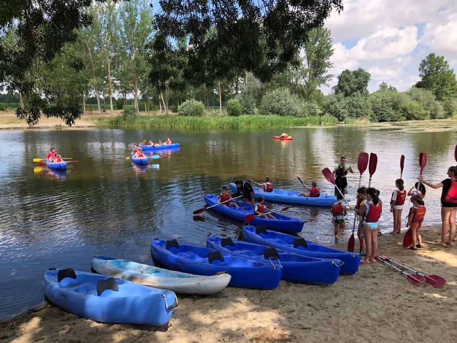pitagüismo en el campamento de verano