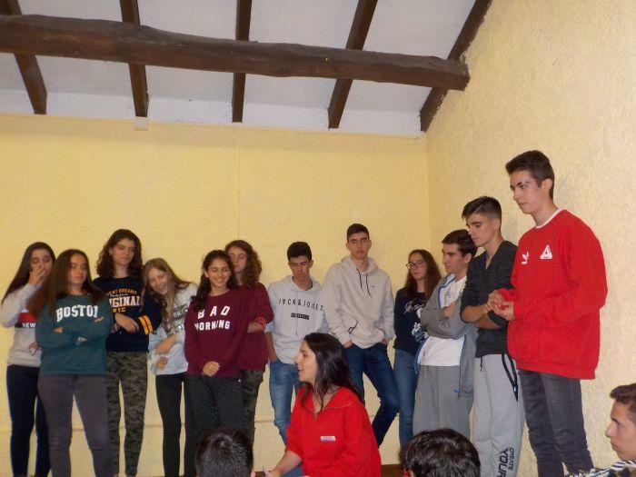 campamento de asturias por la noche