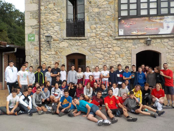 grupo de campamento de Asturias