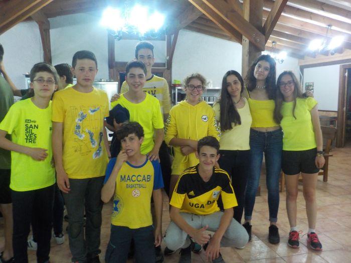 equipo amarillo en Asturias