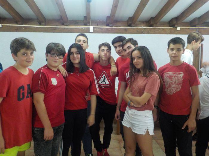 equipo rojo en Asturias