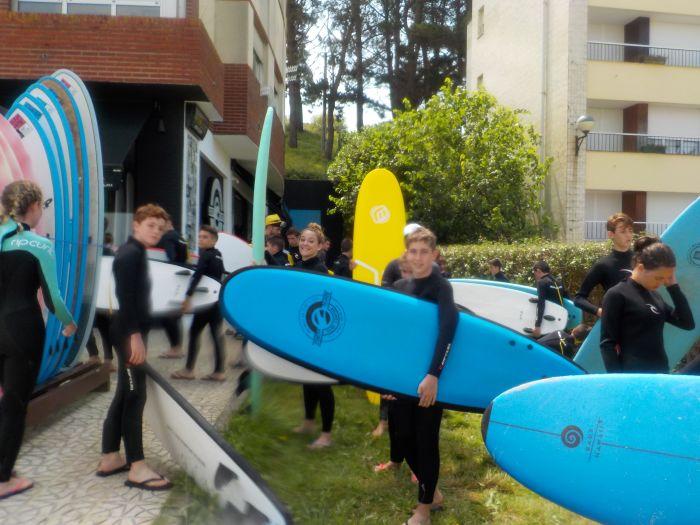 listos para el surf en Asturias