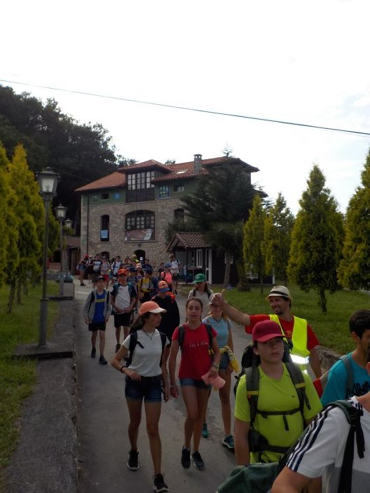ruta de senderismo en Asturias