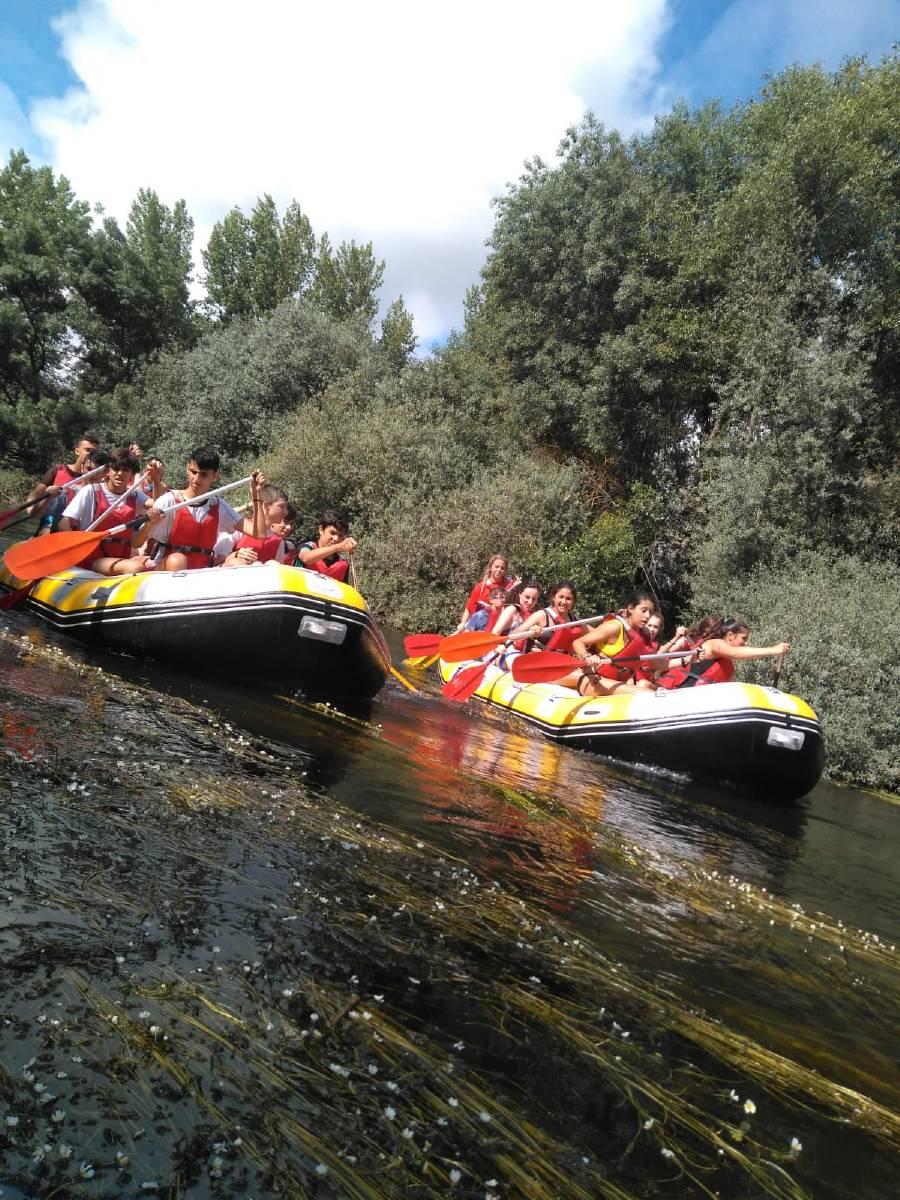 barcas en el río Tormes