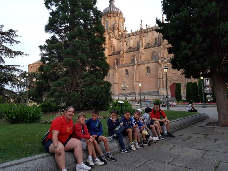 Campamento verano visita Salamanca