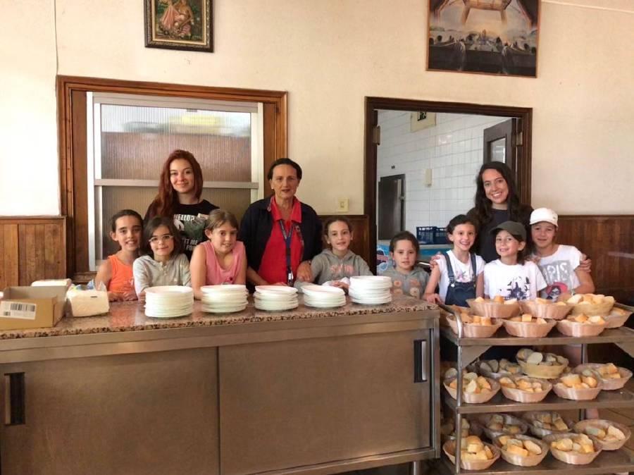 cocina en Salamanca Summer Camp