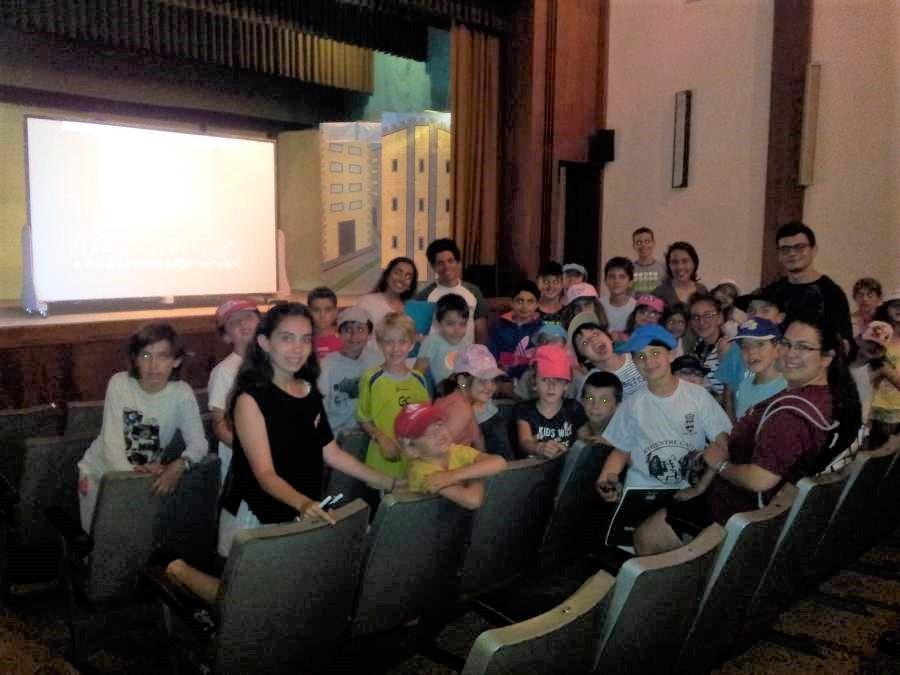 auditorio del campamento de Salamanca